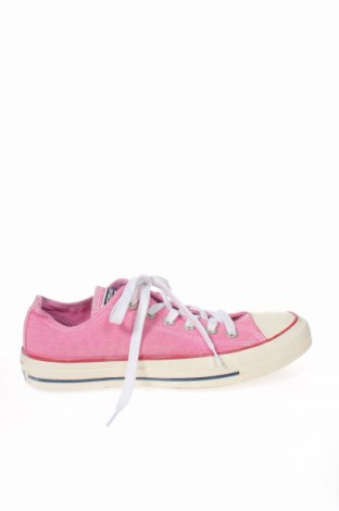 Дамски обувки Converse, Размер 37, Цвят Розов, Текстил, Цена 96,60лв.