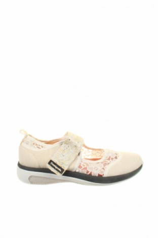 Γυναικεία παπούτσια Desigual, Μέγεθος 39, Χρώμα Εκρού, Κλωστοϋφαντουργικά προϊόντα, Τιμή 38,21€