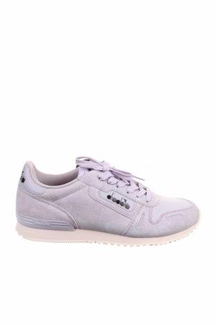 Γυναικεία παπούτσια Diadora, Μέγεθος 40, Χρώμα Βιολετί, Φυσικό σουέτ, κλωστοϋφαντουργικά προϊόντα, Τιμή 39,41€