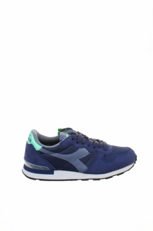 Дамски обувки Diadora, Размер 36, Цвят Син, Естествен велур, текстил, еко кожа, Цена 87,57лв.