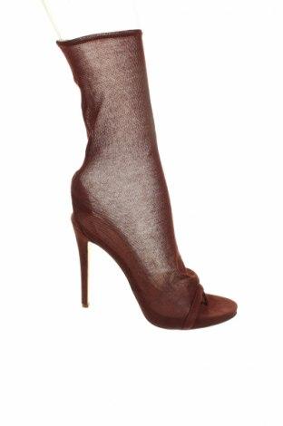 Дамски обувки Ermanno Scervino, Размер 38, Цвят Кафяв, Текстил, Цена 252,85лв.