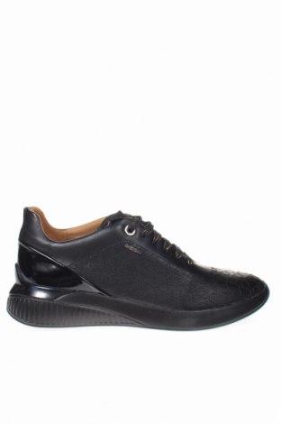 Γυναικεία παπούτσια Geox, Μέγεθος 37, Χρώμα Μαύρο, Γνήσιο δέρμα, Τιμή 62,74€