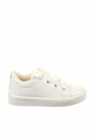 Γυναικεία παπούτσια Guess, Μέγεθος 39, Χρώμα Λευκό, Δερματίνη, Τιμή 62,74€