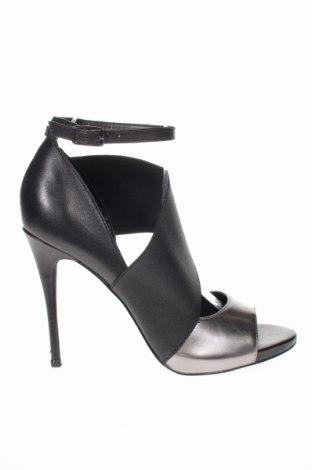 Γυναικεία παπούτσια Guess, Μέγεθος 39, Χρώμα Μαύρο, Δερματίνη, κλωστοϋφαντουργικά προϊόντα, γνήσιο δέρμα, Τιμή 77,01€