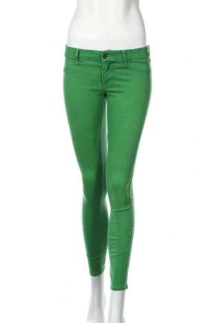 Dámske nohavice Abercrombie & Fitch, Veľkosť S, Farba Zelená, 80% bavlna, 17% viskóza, 3% elastan, Cena  20,12€