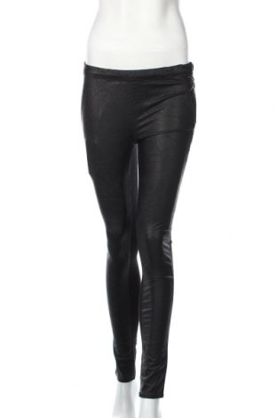 Дамски панталон Gas, Размер S, Цвят Черен, 55% еко кожа, 45% вискоза, Цена 87,72лв.