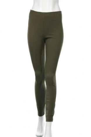 Pantaloni de femei Mango, Mărime S, Culoare Verde, 94% bumbac, 6% elastan, Preț 116,45 Lei