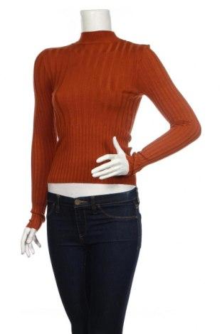 Damski sweter Brave Soul, Rozmiar S, Kolor Brązowy, 80% wiskoza, 20% poliamid, Cena 140,00zł