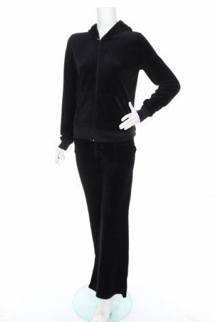 Γυναικείο αθλητικό σετ Juicy Couture, Μέγεθος XL, Χρώμα Μαύρο, 80% βαμβάκι, 20% πολυεστέρας, Τιμή 47,10€