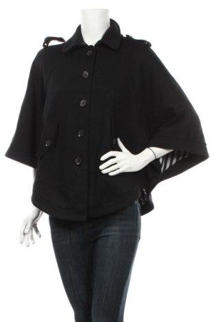 Дамско палто H&M, Размер XS, Цвят Черен, 65% памук, 35% полиестер, Цена 42,04лв.