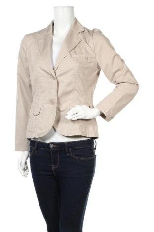 Дамско сако S.Oliver, Размер M, Цвят Бежов, 98% памук, 2% еластан, Цена 6,17лв.