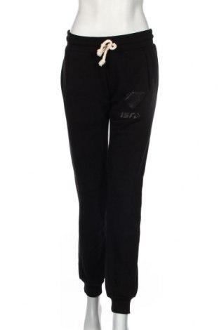 Γυναικείο αθλητικό παντελόνι Isc, Μέγεθος M, Χρώμα Μαύρο, 52% πολυεστέρας, 48% βαμβάκι, Τιμή 20,36€