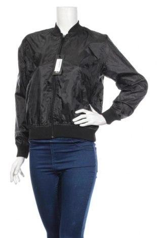 Дамско яке Boohoo, Размер S, Цвят Черен, Полиестер, Цена 23,60лв.