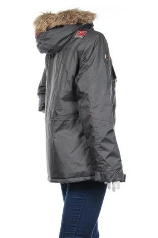 Дамско яке Geographical Norway, Размер M, Цвят Сив, Полиестер, Цена 138,72лв.