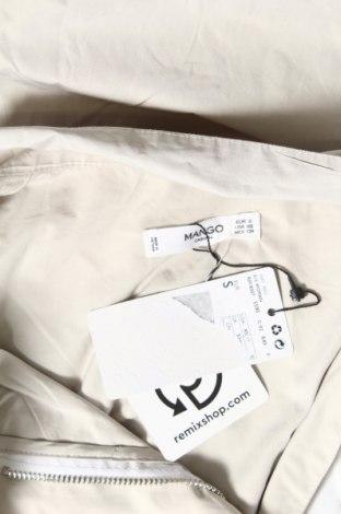 Дамско яке Mango, Размер S, Цвят Бежов, 60% памук, 30% полиестер, 10% полиамид, Цена 35,60лв.