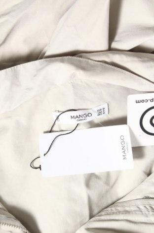 Дамско яке Mango, Размер M, Цвят Бежов, 60% памук, 30% полиестер, 10% полиамид, Цена 35,60лв.