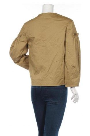 Дамско яке Mango, Размер M, Цвят Зелен, 98% памук, 2% еластан, Цена 35,60лв.