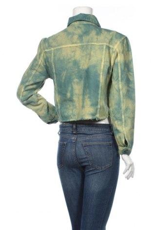 Дамско яке Nasty Gal, Размер S, Цвят Син, 98% памук, 2% еластан, Цена 27,20лв.