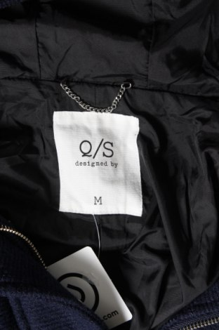 Дамско яке Q/S by S.Oliver, Размер M, Цвят Син, 70% полиестер, 30% вълна, Цена 54,21лв.