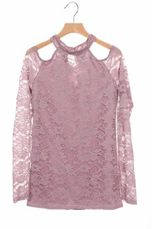 Детска блуза D-Xel, Размер 12-13y/ 158-164 см, Цвят Пепел от рози, 95% полиестер, 5% еластан, Цена 8,51лв.