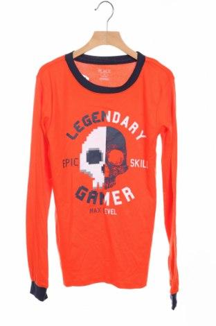 Детска блуза Place, Размер 15-18y/ 170-176 см, Цвят Оранжев, Памук, Цена 4,99лв.