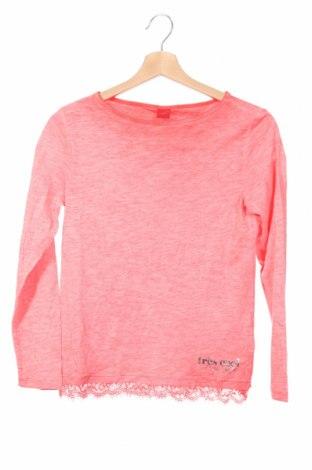Детска блуза S.Oliver, Размер 10-11y/ 146-152 см, Цвят Розов, Памук, Цена 19,50лв.