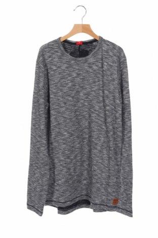 Детска блуза S.Oliver, Размер 15-18y/ 170-176 см, Цвят Сив, Памук, Цена 13,68лв.