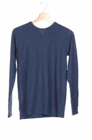 Детска блуза S.Oliver, Размер 12-13y/ 158-164 см, Цвят Син, Памук, Цена 31,50лв.