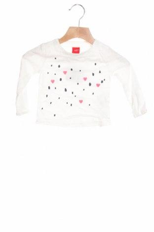 Παιδική μπλούζα S.Oliver, Μέγεθος 6-9m/ 68-74 εκ., Χρώμα Λευκό, Βαμβάκι, Τιμή 14,10€