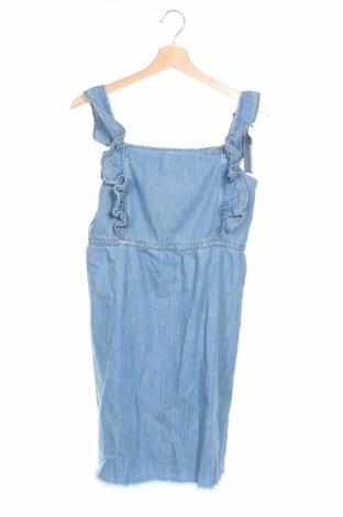 Детска рокля Pepe Jeans, Размер 15-18y/ 170-176 см, Цвят Син, Памук, Цена 31,15лв.