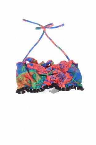 Strój kąpielowy dziecięcy F**k, Rozmiar 4-5y/ 110-116 cm, Kolor Kolorowy, 80% poliester, 20% elastyna, Cena 31,50zł