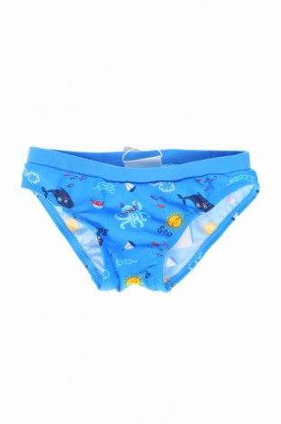 Strój kąpielowy dziecięcy Oviesse Young, Rozmiar 9-12m/ 74-80 cm, Kolor Niebieski, 80% poliamid, 20% elastyna, Cena 28,50zł