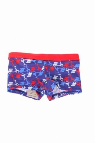 Strój kąpielowy dziecięcy United Colors Of Benetton, Rozmiar 4-5y/ 110-116 cm, Kolor Niebieski, 82% poliamid, 18% elastyna, Cena 42,00zł