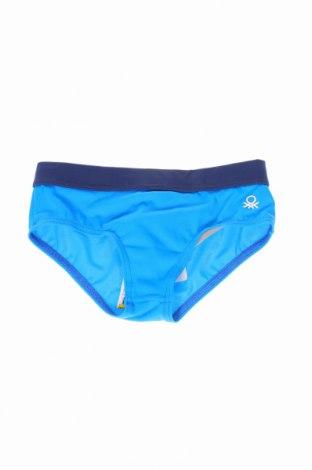 Strój kąpielowy dziecięcy United Colors Of Benetton, Rozmiar 2-3y/ 98-104 cm, Kolor Niebieski, 80% poliamid, 20% elastyna, Cena 42,00zł
