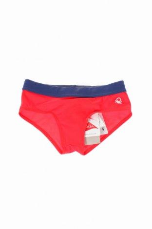 Strój kąpielowy dziecięcy United Colors Of Benetton, Rozmiar 18-24m/ 86-98 cm, Kolor Czerwony, 80% poliamid, 20% elastyna, Cena 42,00zł