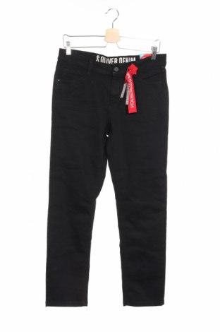 Dětské džíny  S.Oliver, Rozměr 11-12y/ 152-158 cm, Barva Černá, 70% bavlna, 28% polyester, 2% elastan, Cena  334,00Kč