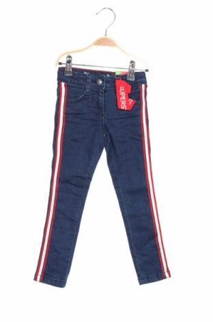 Dětské džíny  S.Oliver, Rozměr 2-3y/ 98-104 cm, Barva Modrá, 79% bavlna, 20% polyester, 1% elastan, Cena  543,00Kč