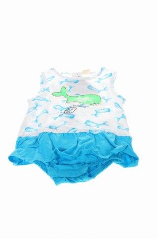 Salopetă pentru copii. Cotton Fish, Mărime 6-9m/ 68-74 cm, Culoare Albastru, Bumbac, Preț 70,00 Lei