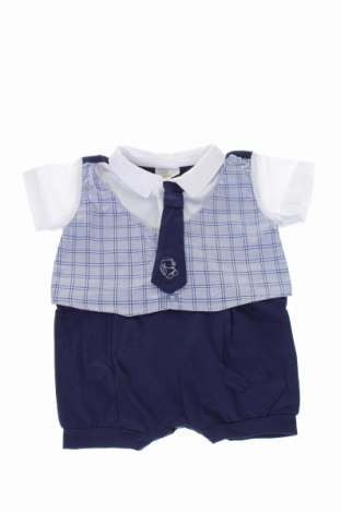 Salopetă pentru copii. Fun & Fun, Mărime 1-2m/ 50-56 cm, Culoare Albastru, 95% bumbac, 5% elastan, Preț 71,84 Lei