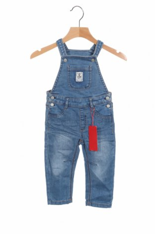 Salopetă pentru copii. S.Oliver, Mărime 9-12m/ 74-80 cm, Culoare Albastru, 98% bumbac, 2% elastan, Preț 136,19 Lei