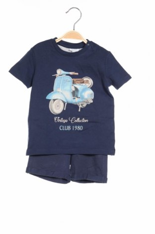 Dětský komplet  Fagottino By Oviesse, Rozměr 12-18m/ 80-86 cm, Barva Modrá, Bavlna, Cena  278,00Kč