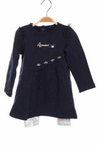 Dětský komplet  Fagottino By Oviesse, Rozměr 12-18m/ 80-86 cm, Barva Modrá, 95% bavlna, 5% elastan, Cena  650,00Kč