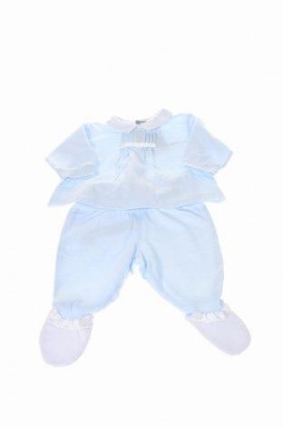 Dětský komplet  Tutto Piccolo, Rozměr 1-2m/ 50-56 cm, Barva Modrá, Bavlna, Cena  552,00Kč