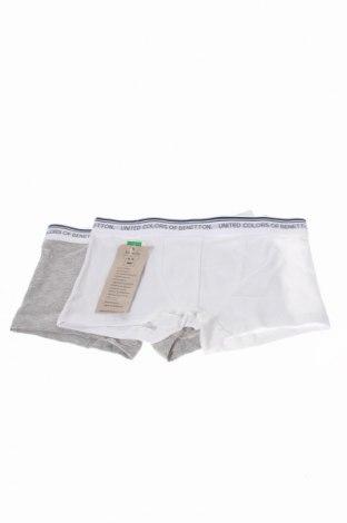Dětský komplet  United Colors Of Benetton, Rozměr 8-9y/ 134-140 cm, Barva Bílá, 90% bavlna, 10% elastan, Cena  271,00Kč