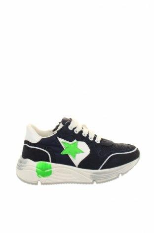 Детски обувки Balducci, Размер 27, Цвят Син, Естествен велур, естествена кожа, текстил, Цена 60,52лв.