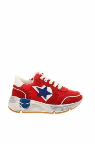 Детски обувки Balducci, Размер 24, Цвят Червен, Естествен велур, естествена кожа, текстил, Цена 60,52лв.