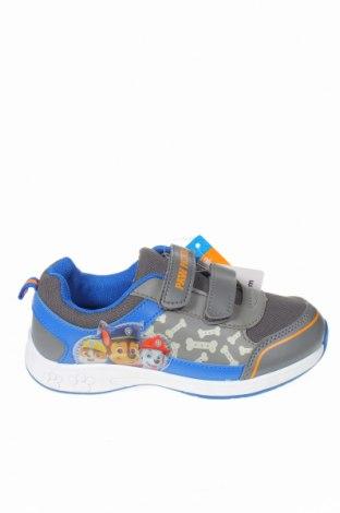 Детски обувки Nickelodeon, Размер 30, Цвят Сив, Еко кожа, текстил, Цена 32,18лв.