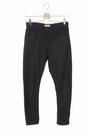 Детски панталон Zara Kids, Размер 11-12y/ 152-158 см, Цвят Черен, 98% памук, 2% еластан, Цена 25,50лв.