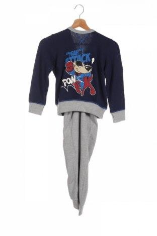 Dětský sportovní komplet  United Colors Of Benetton, Rozměr 7-8y/ 128-134 cm, Barva Šedá, 64% bavlna, 34% polyester, 2% elastan, Cena  721,00Kč