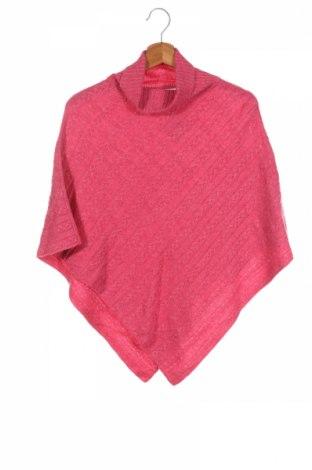 Детско пончо Witchery, Размер 11-12y/ 152-158 см, Цвят Розов, 38% вискоза, 35% полиамид, 22% вълна, 5% еластан, Цена 20,48лв.